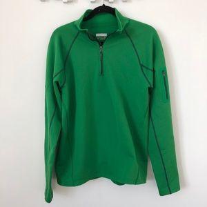 Marmot Green 1/4 Zip